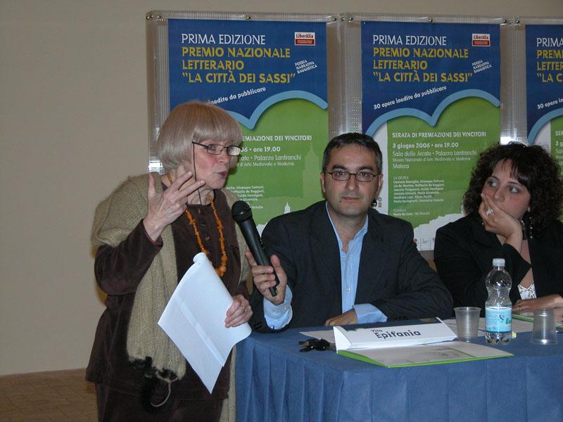 Premio letterario La città dei Sassi - 2006
