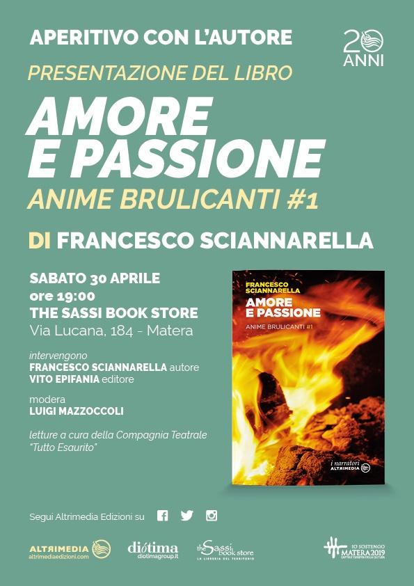 """Presentazione """"Amore e passione""""_Anime brulicanti#1"""