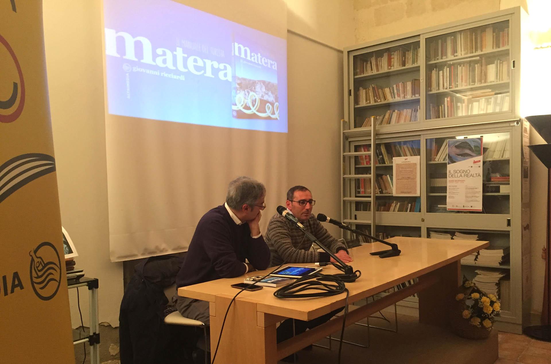 """Presentato """"Matera. Il manuale del turista"""""""