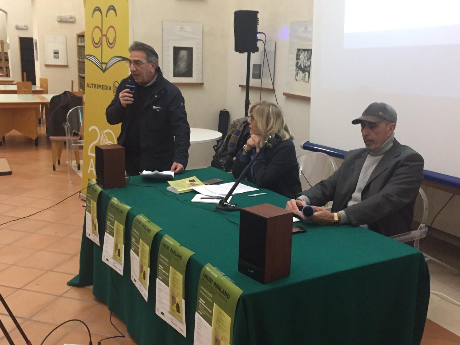 """A Montalbano sulle tracce di personalità illustri: presentato a Matera """"I muri parlano"""""""