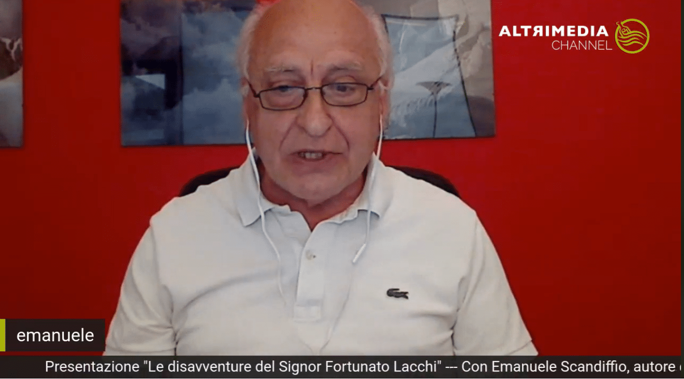 """""""Fortunato Lacchi c'est moi"""": alla scoperta del protagonista della raccolta di racconti di Emanuele Scandiffio"""