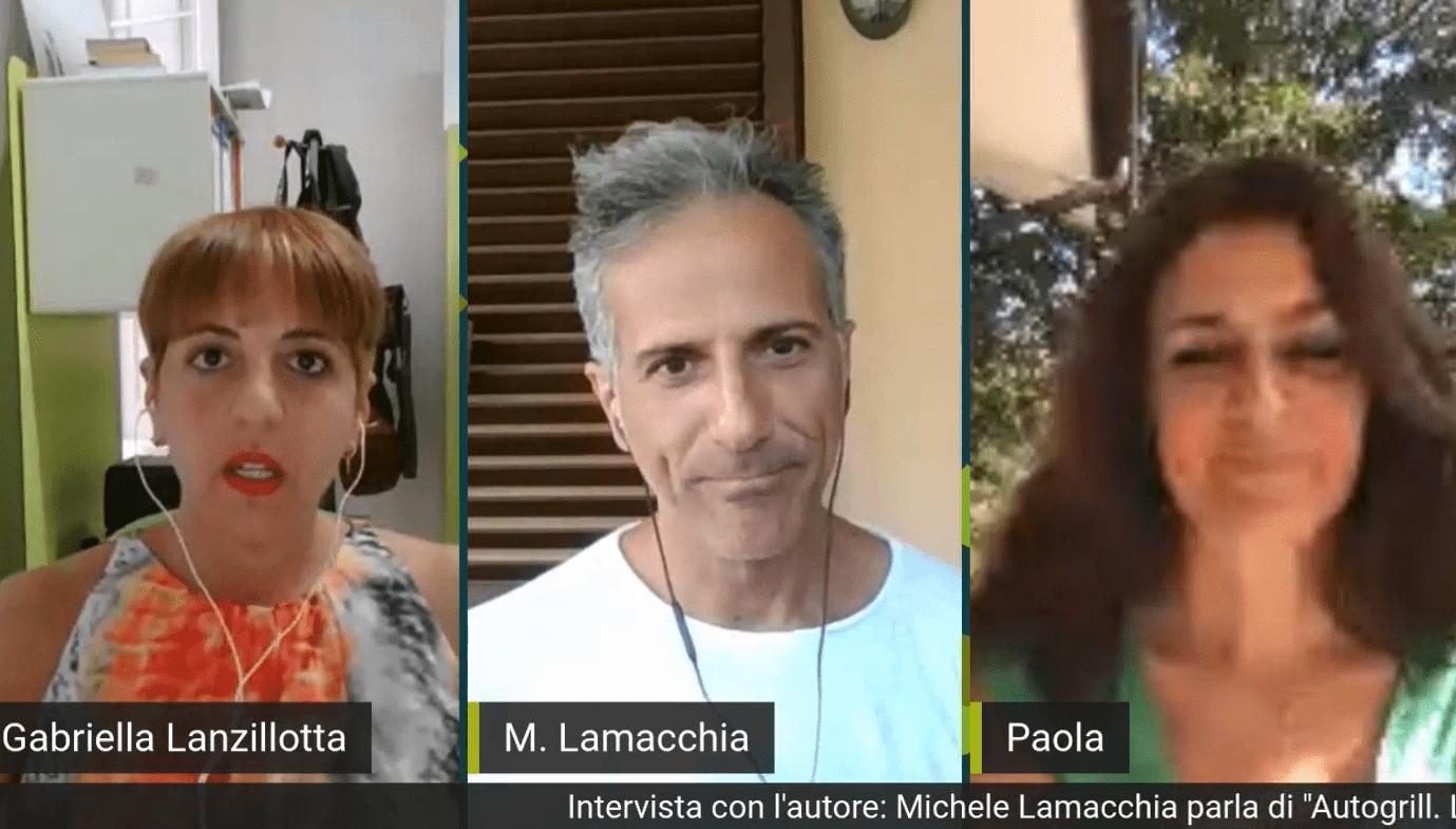 """Michele Lamacchia racconta """"Autogrill"""": è il primo ospite del nuovo format di Altrimedia """"Intervista con l'autore"""""""