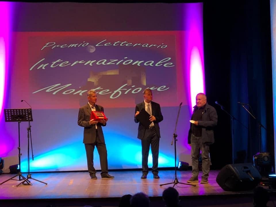 """Premio Letterario Internazionale Montefiore, quarto posto per """"La congiura delle passioni"""" di Pietro De Sarlo"""